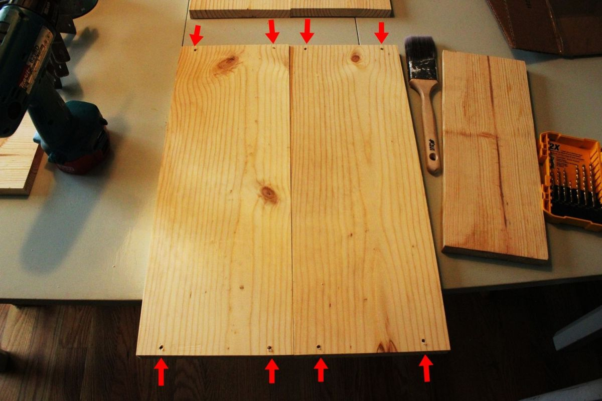 DIY Hairpin Leg Side Table - Rotate Boards