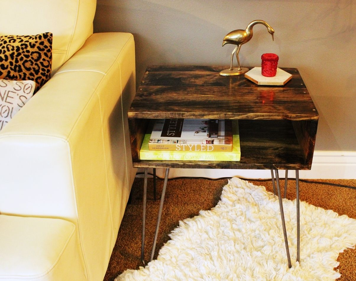 How to build a Hairpin Leg Side Table