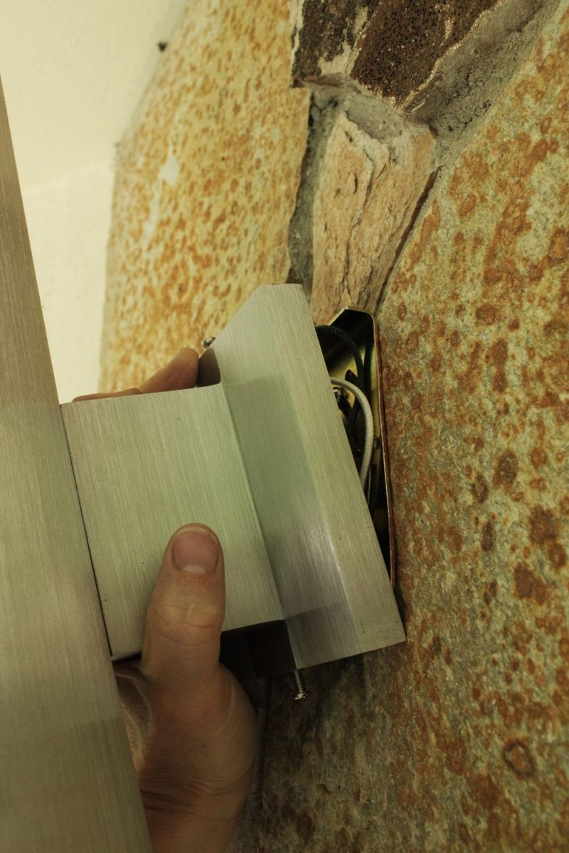 Mount the wall plate