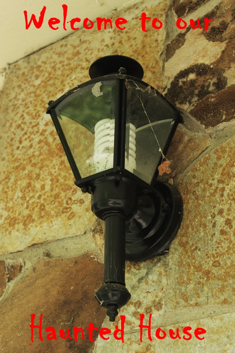 Remove the old porch lighting fixture