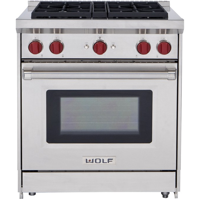 Wolf vs. BlueStar 30 Inch All Gas Pro Ranges (Reviews / Ratings ...