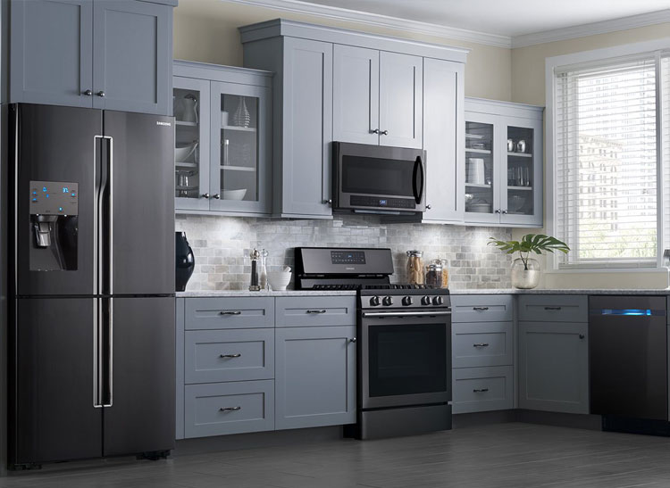 Best Black Stainless Steel Kitchen Packages From LG Samsung And - Ratings for kitchen appliances