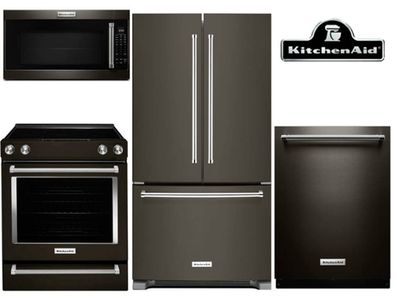 best black stainless steel kitchen packages from lg, samsung and