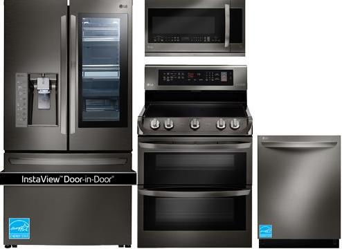 Best Black Stainless Steel Kitchen Packages From LG, Samsung And KitchenAid  (Reviews / Ratings